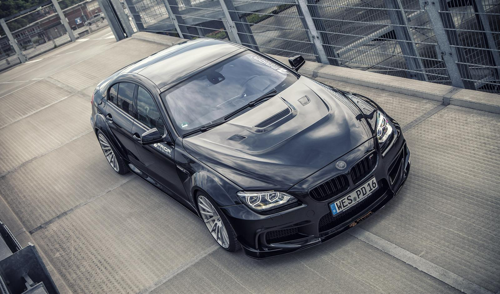 If A Normal Bmw M6 Gran Coupe Worked Out This Insane M6 Pd6xx Would Be The Result