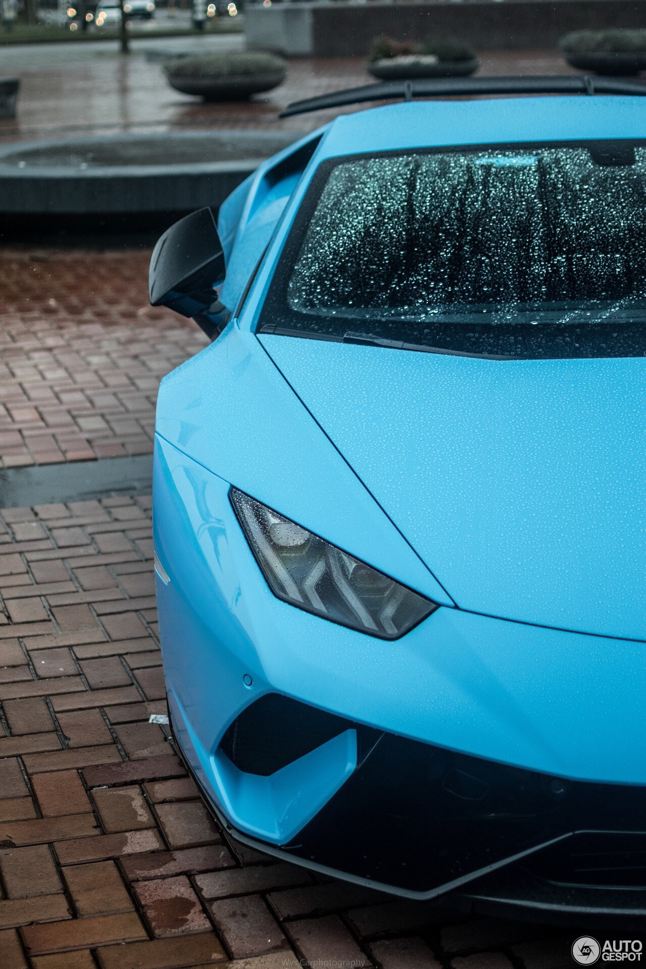 Lamborghini Huracan Performante Wallpaper Blue