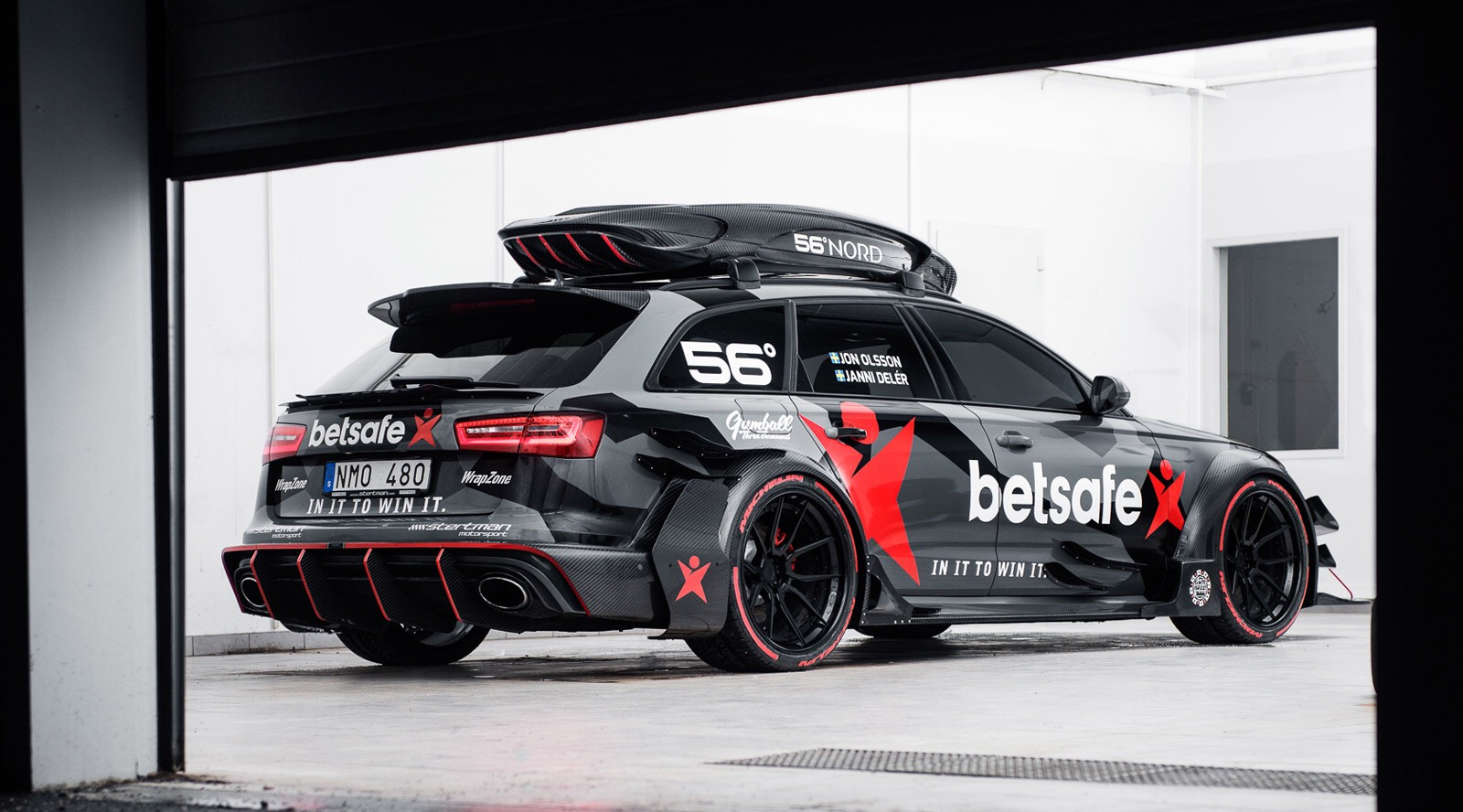 An 800bhp Lamborghini Huracan With A Roof Box Could Only Belong To Jon Olsson
