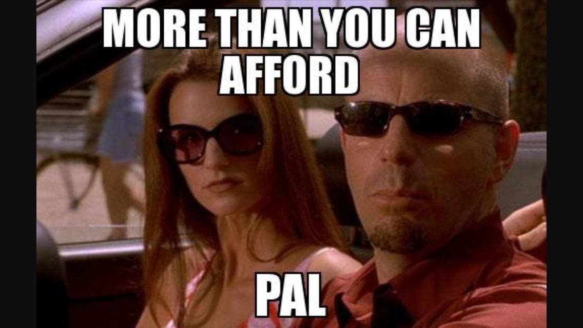 More Than You Can Afford Pal Ferrari