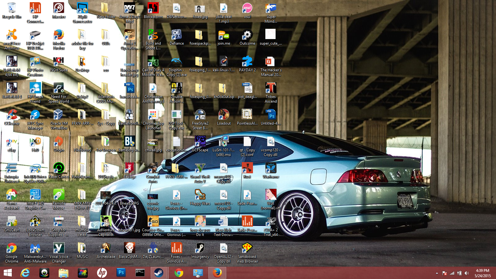 Upload a printscreen of your desktop, if car releted ofc