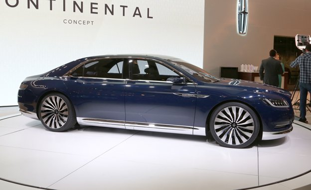The Lincoln Continental Concept With A 3 0 Liter Ecoboost V 6