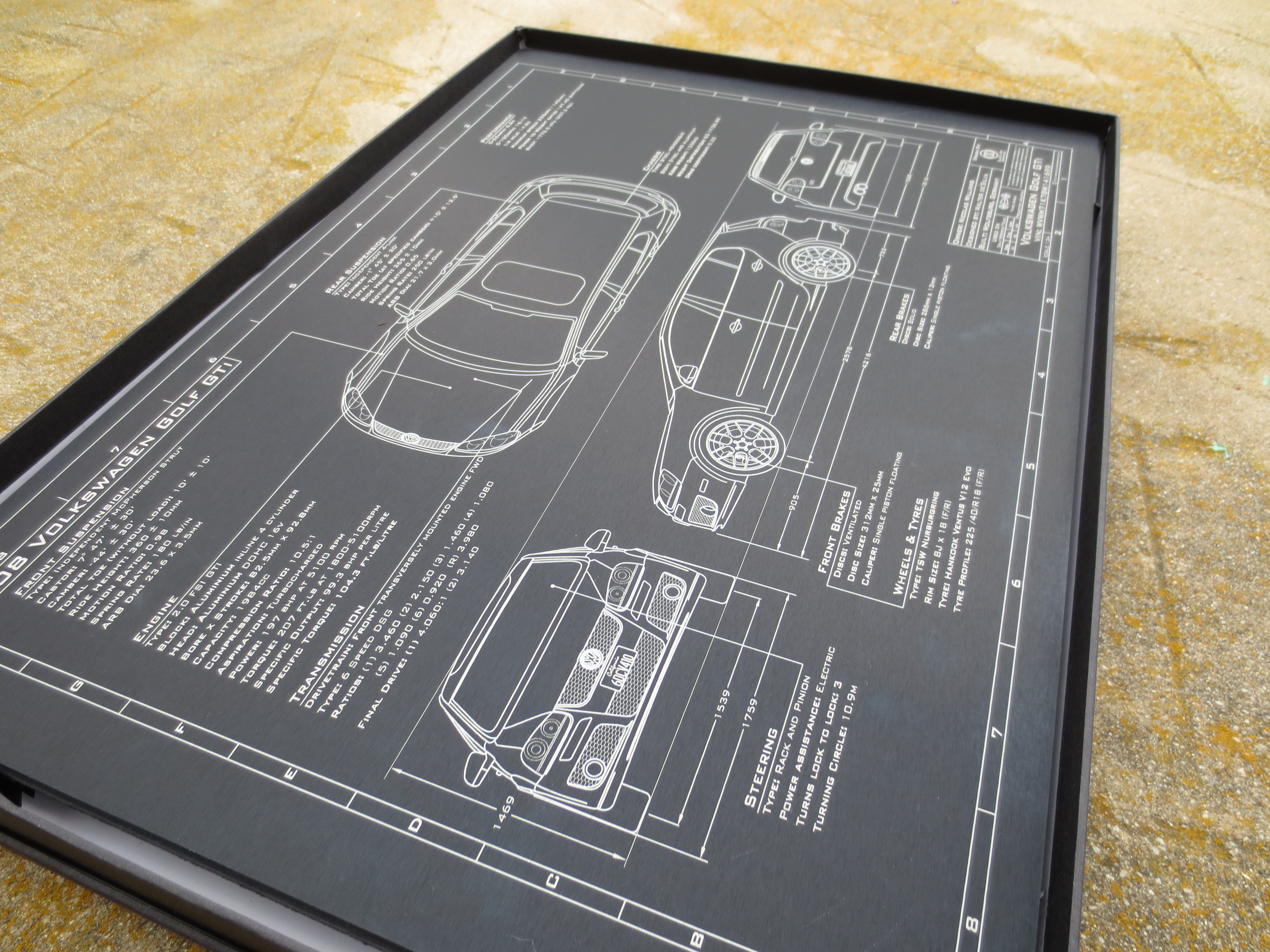 A laser etched plaque of your car is the best present any a laser etched plaque of your car is the best present any petrolhead could receive malvernweather Choice Image