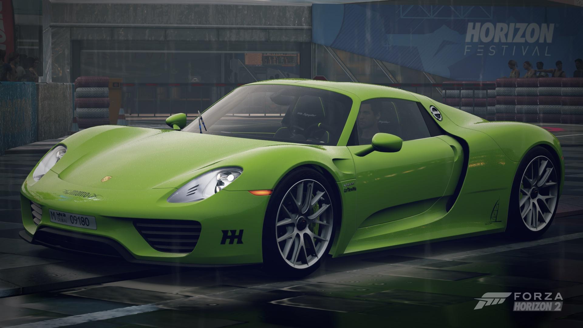 ssjs-557723d6a131e Gorgeous Porsche 918 Spyder Acid Green Cars Trend