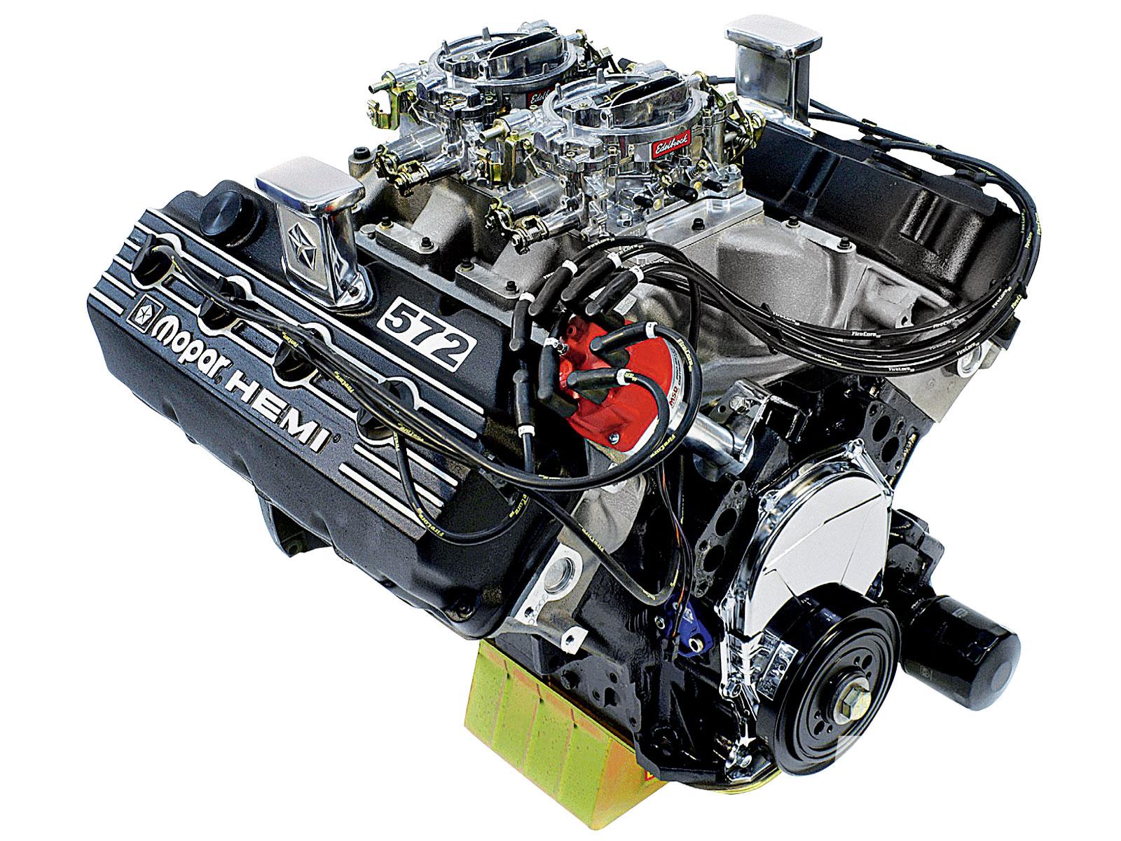 7 tiny engines that prove bigger isn't always better 572 Crate 572 Hemi  Engine