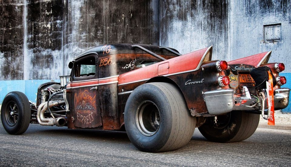 8 Of The World\'s Hottest Rides Given The Rat Look