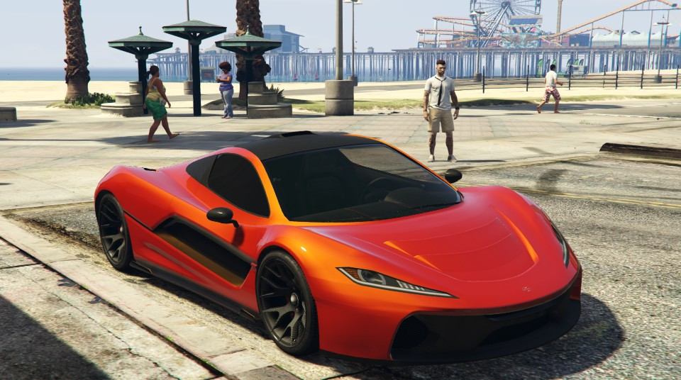 GTA 5 Online - New PROGEN T20 Gameplay & Customization (GTA 5 ill ...