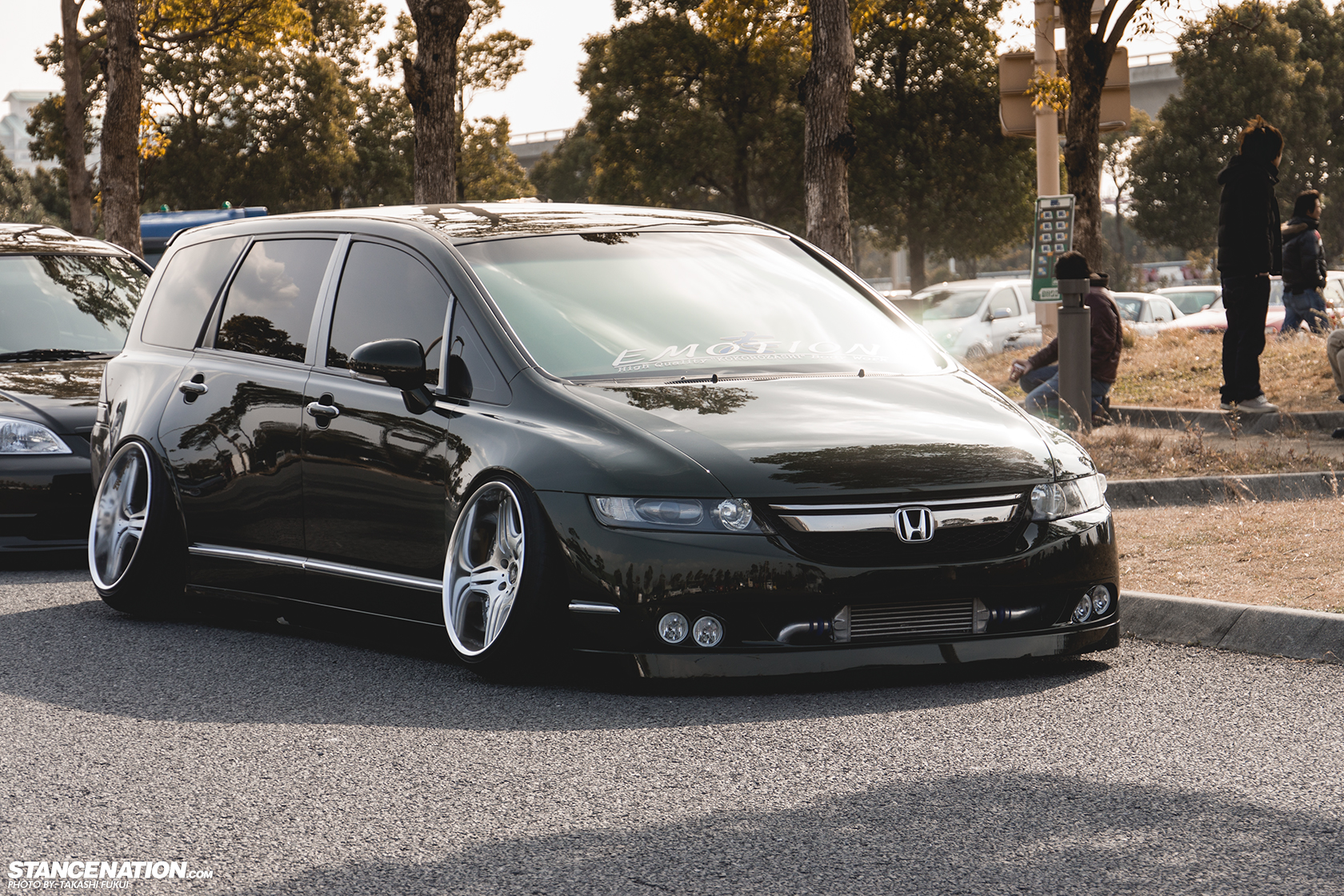 Even The Stanced Minivans Look Better Than This Minnie Van