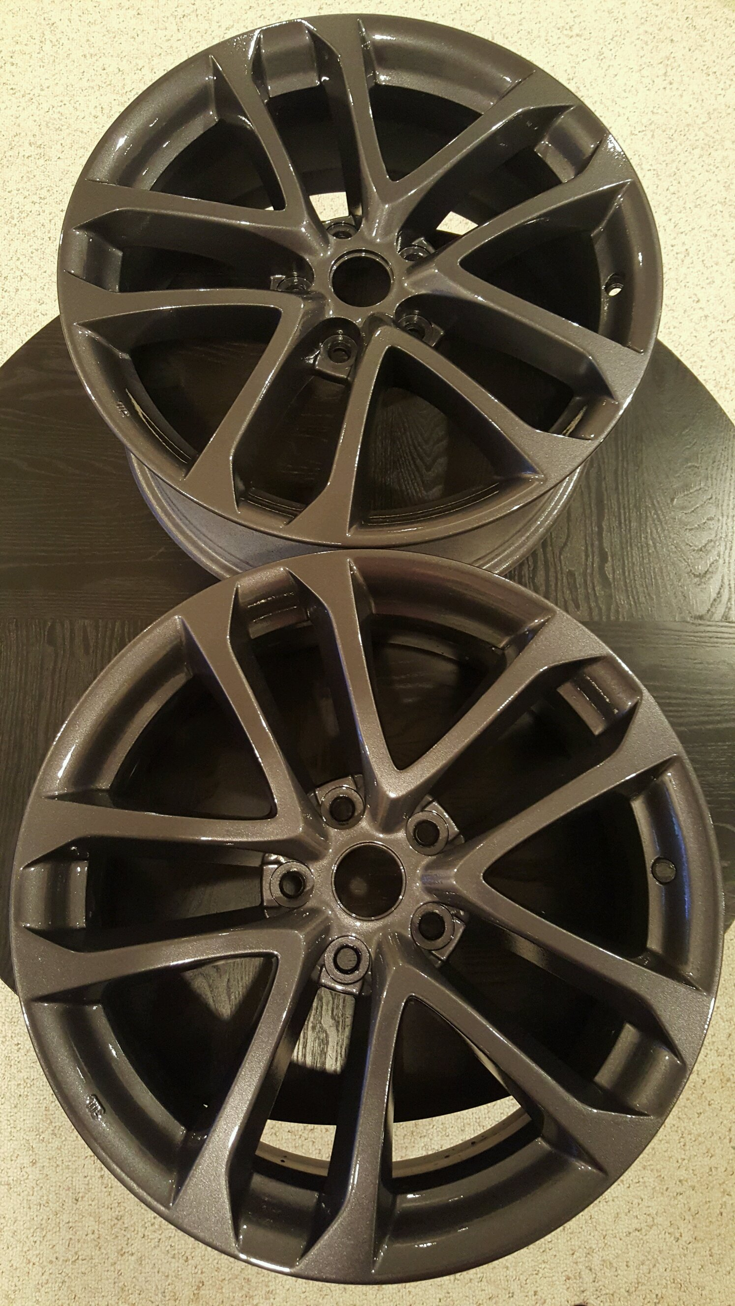Here s How I Refurbished An Old Set Bullitt Wheels For My Mustang