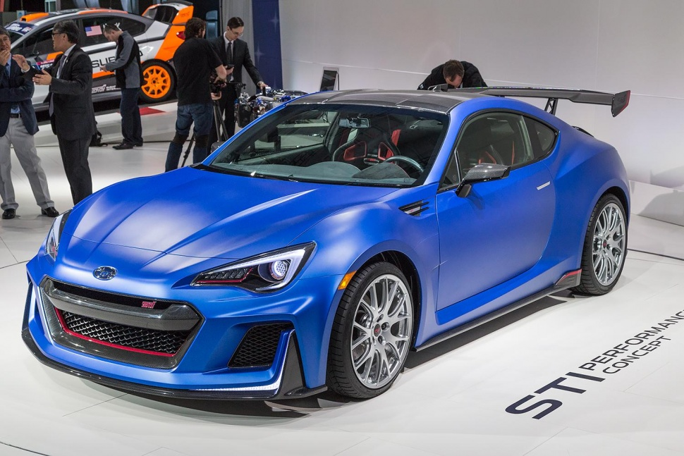 The 2017 Subaru BRZ Is Here With A New Face And Track Mode
