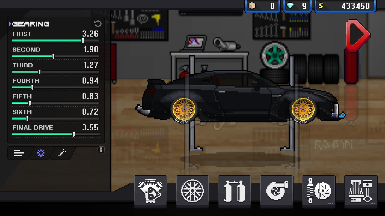 Does Anyone Out There Have A Good 1 Mile Tune For The Gtr In Pixel