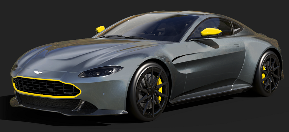 A Specialist Firm Has Attempted To Fix The Aston Martin Vantage S Front End