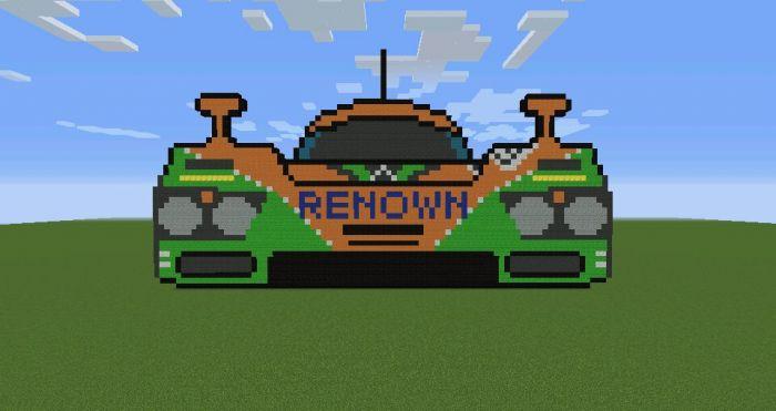 I Finally Finished My Pixel Art Of The Mclaren F1 Gtr Bmw