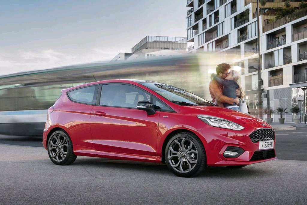 Man and his girlfriend have a last emotional kiss in front of their Fiesta before facing their inevitable deaths by bus (2017 colorized) & The Slow Death Of The Three-Door Hatchback Is Happening And Weu0027re ...