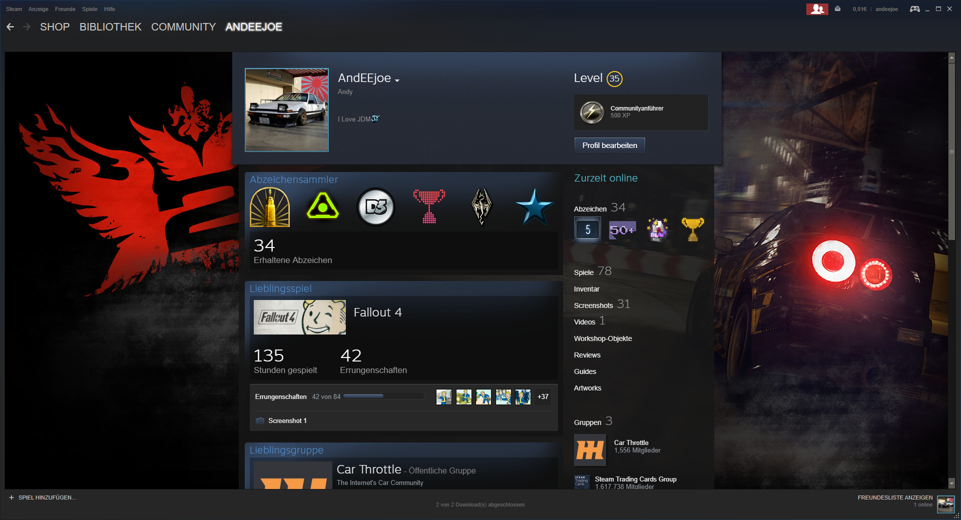 Top 5 best car-related Steam profile backgrounds #gaming