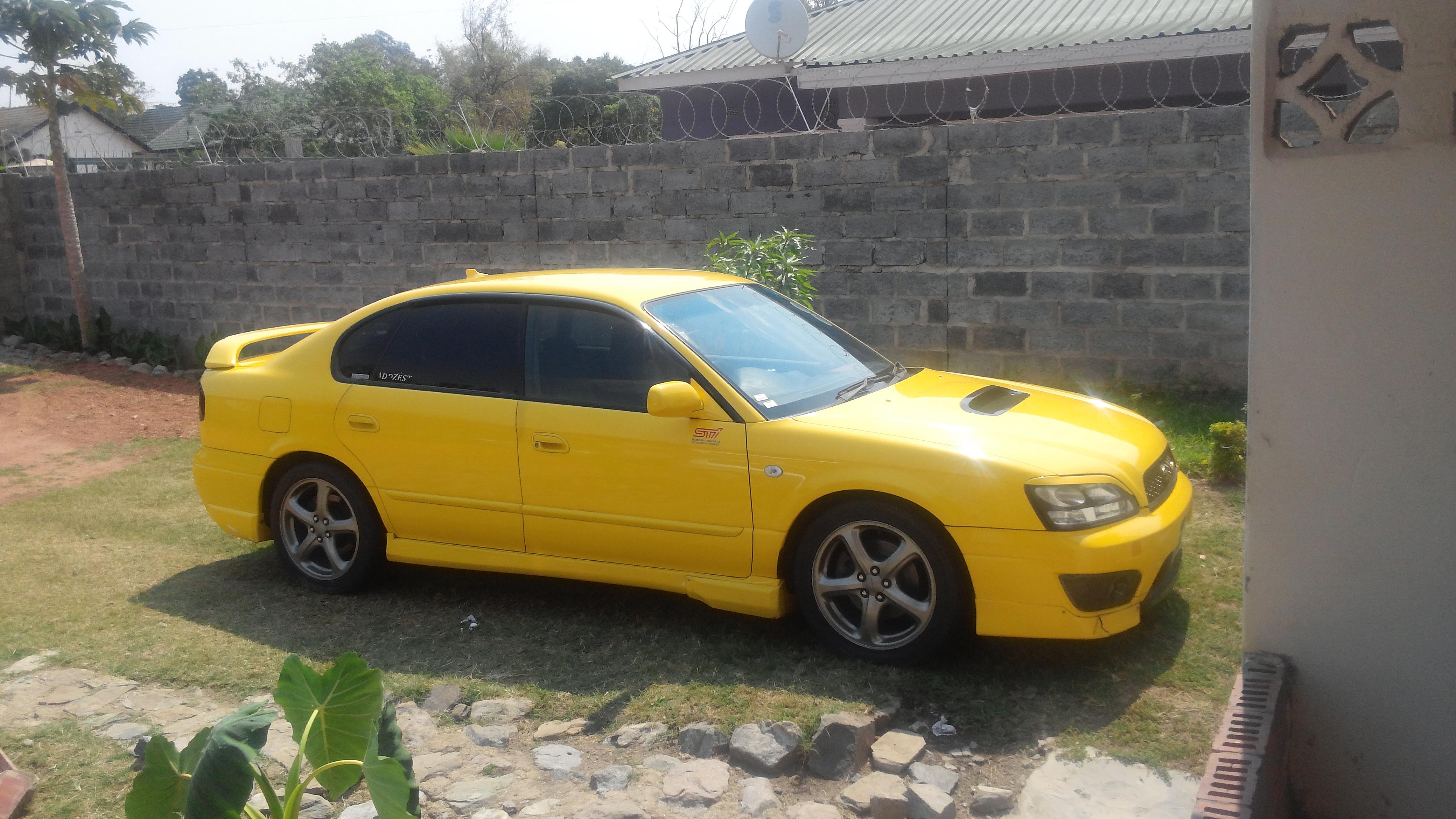 Subaru Legacy B4 Rsk Review 2001