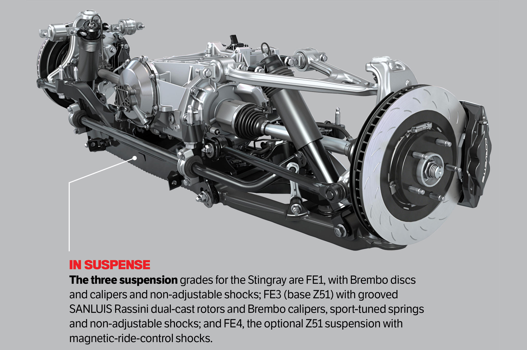 c7 corvette rear suspension diagram  corvette  auto parts