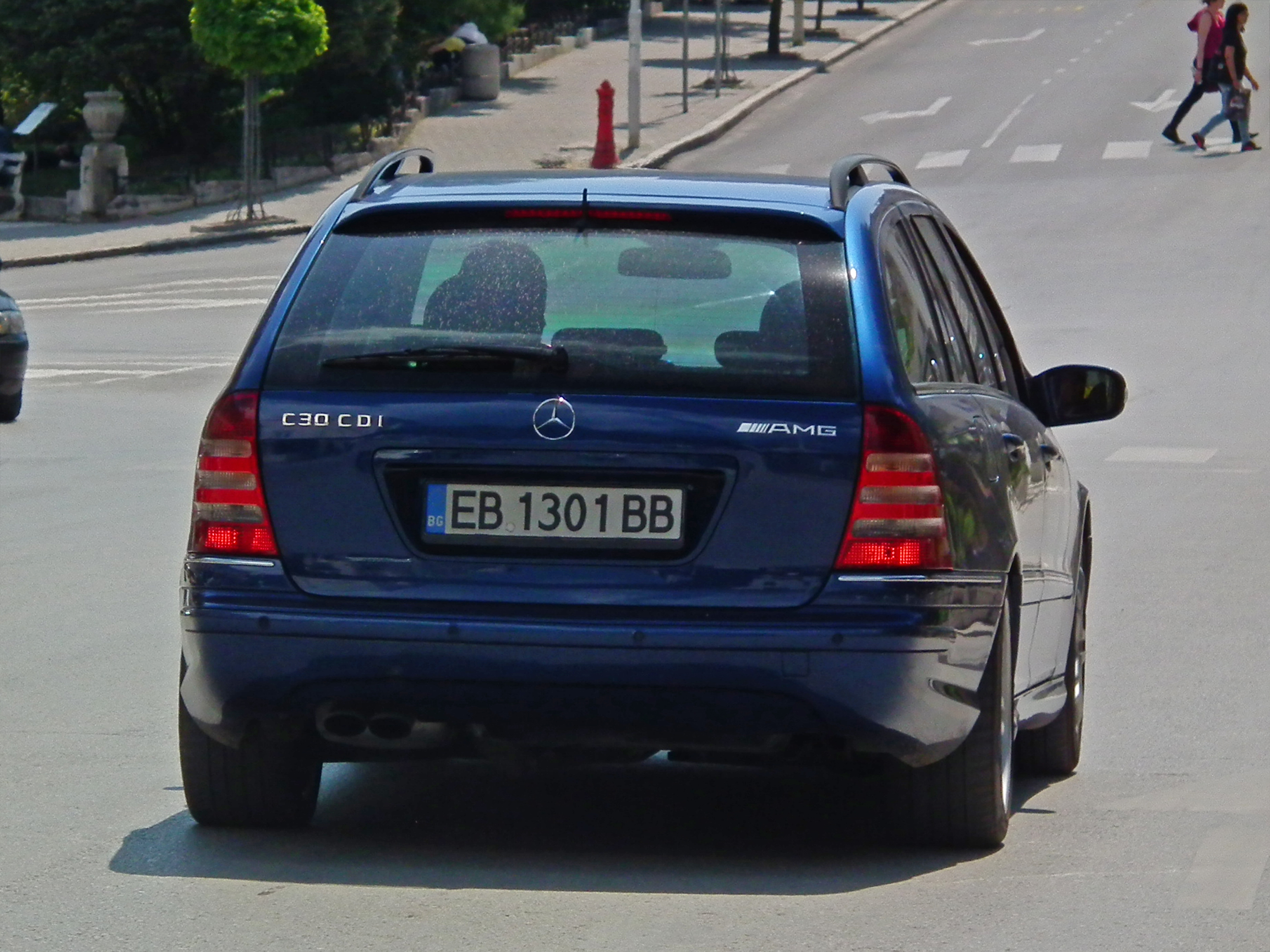 That Time Mercedes Made A 'C30 CDI AMG' With A Diesel Inline
