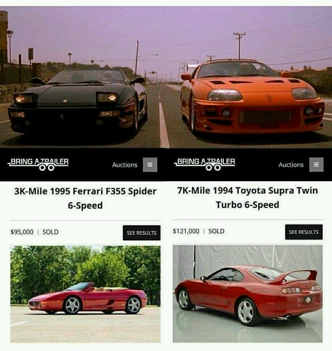 e521ab6717 A Toyota Supra Sold For $121,000 And The World's Gone Mad