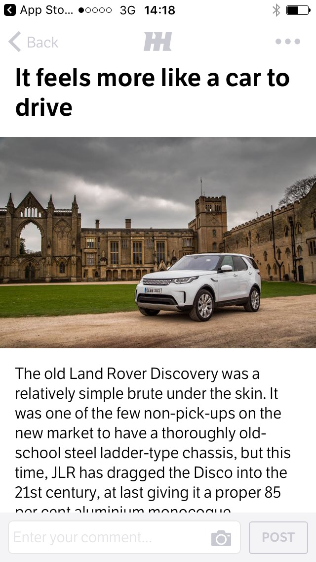 7 Things I Learned After Driving A 2018 Land Rover Discovery