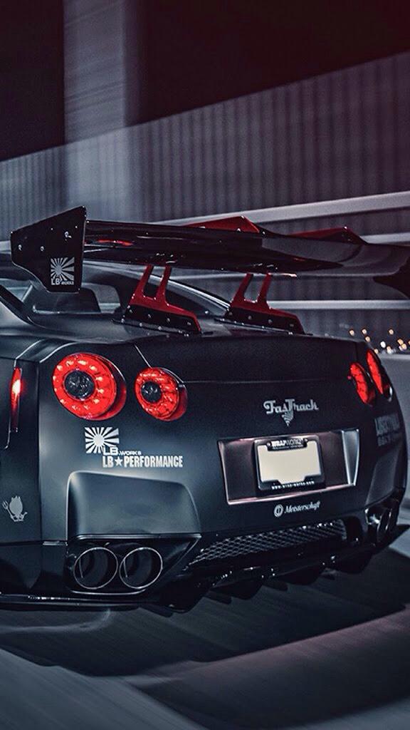 Nissan Gtr R35 Phone Wallpaper