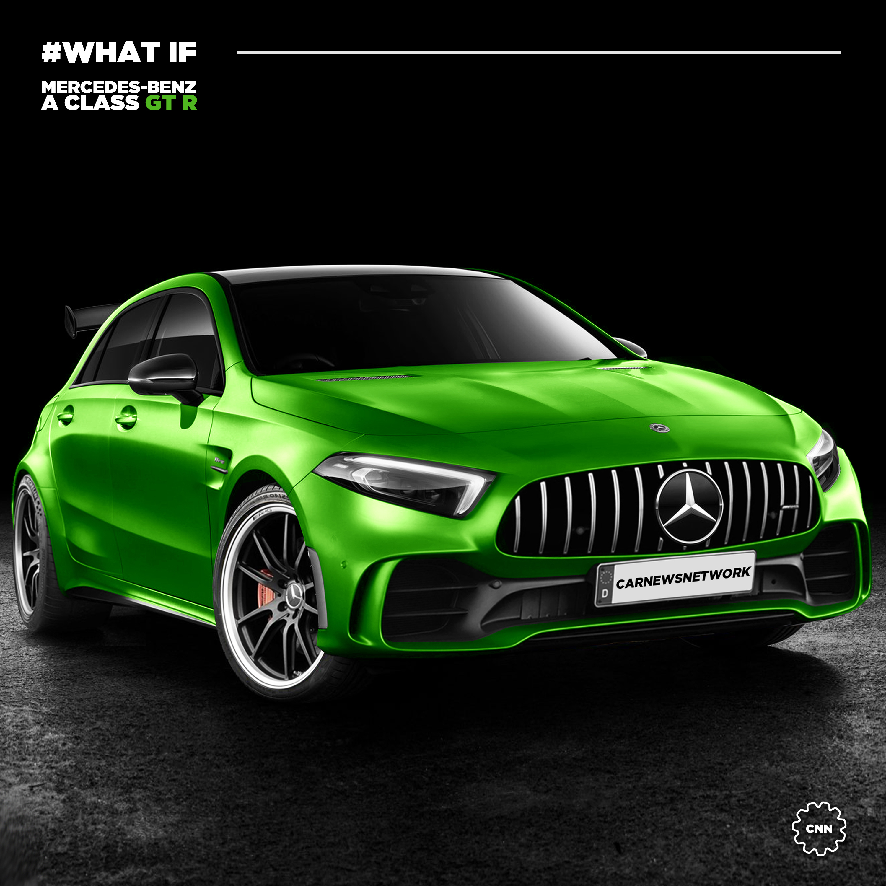 Of Course There's Already A Render Of The 2020 Mercedes-AMG A45