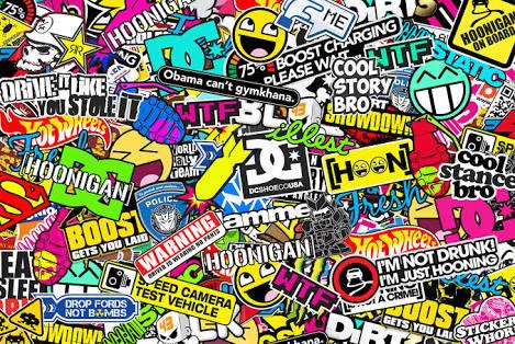 I love bomb sticker