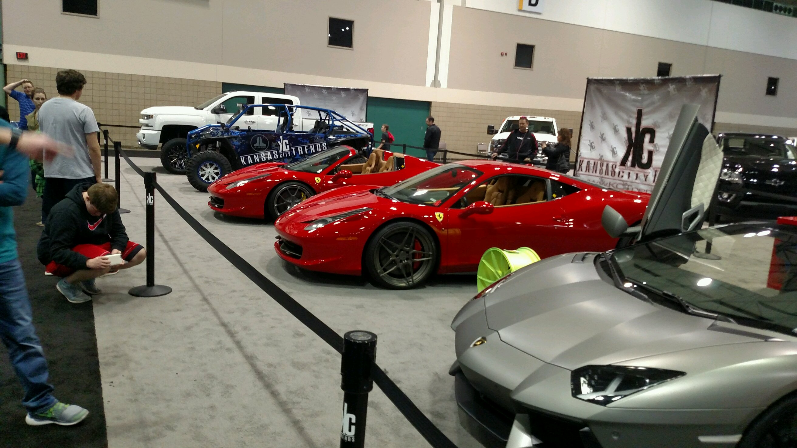 Some Cars I Saw At The KC Auto Show - Kc car show