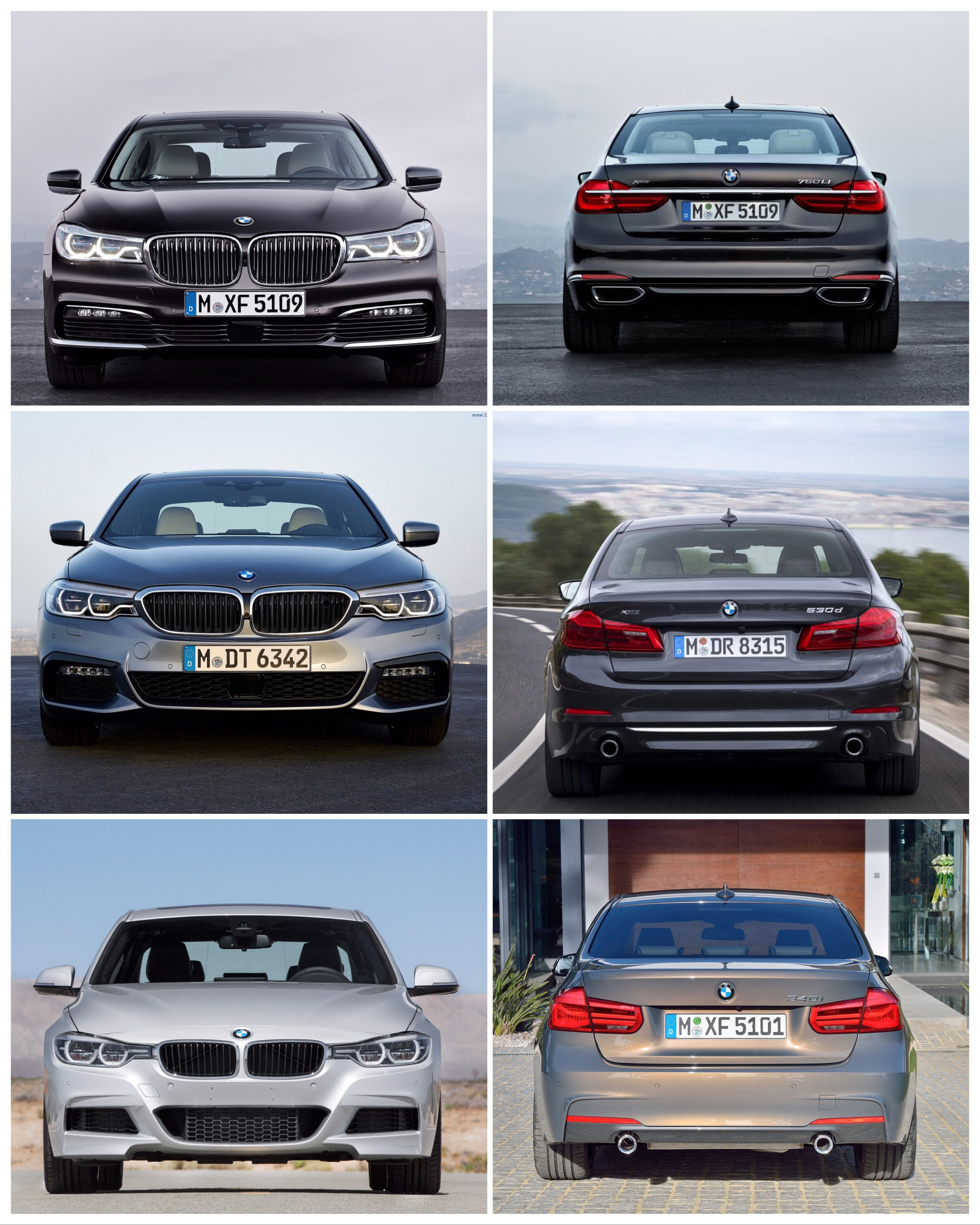 And People Say That All Bmws Look The Same - All bmws
