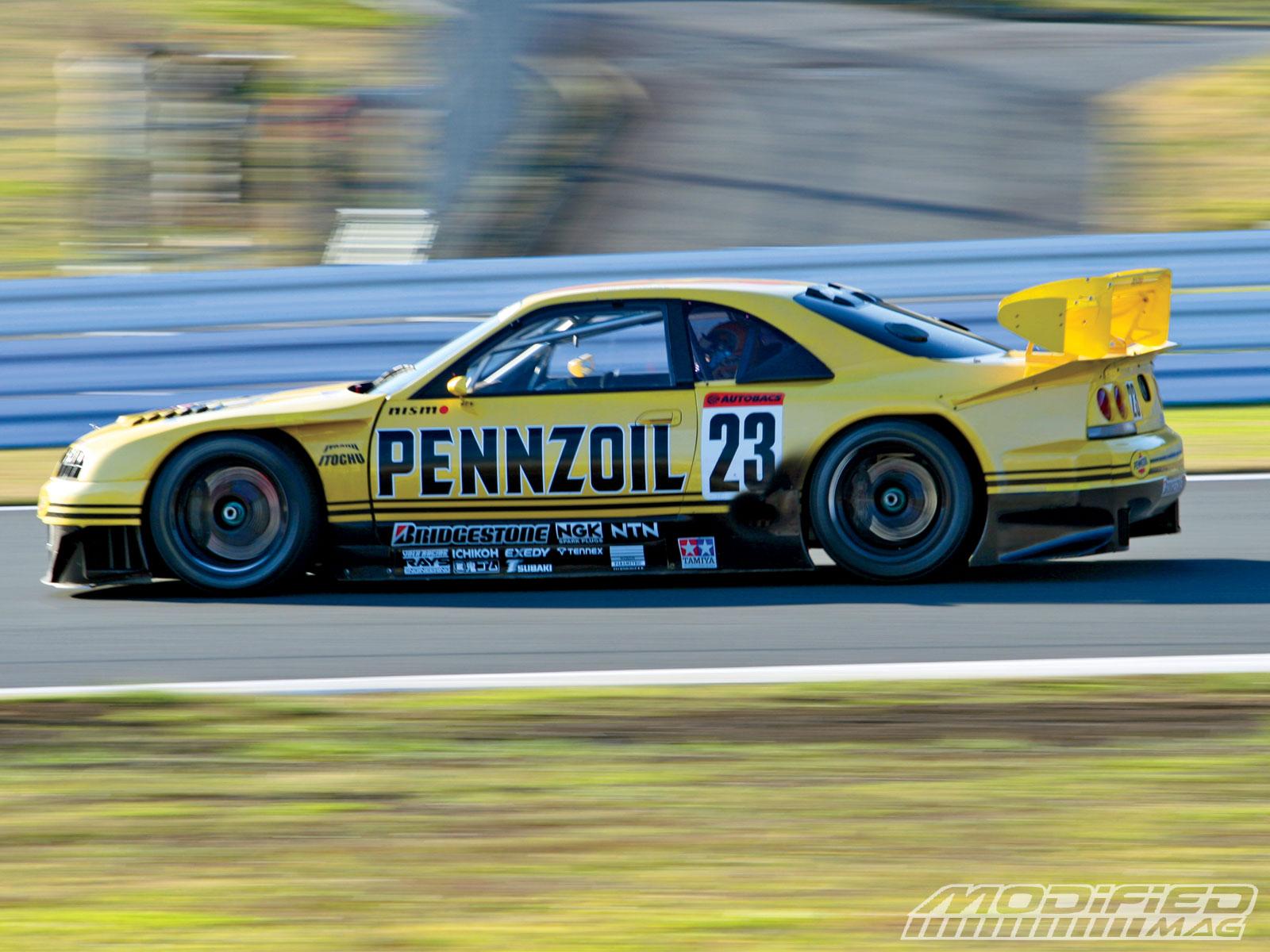 Drag race car paint schemes - Pennzoil Gtr Anyone