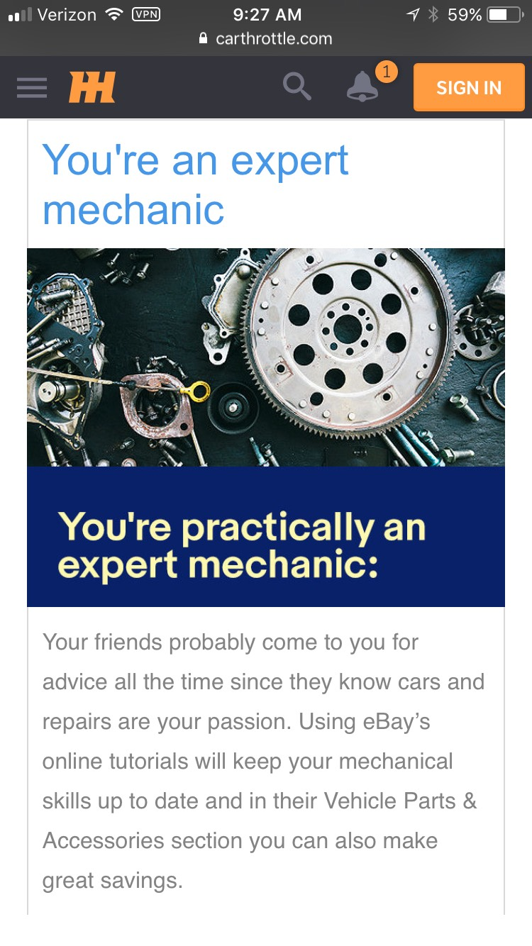 Can You Get Level 'Expert Mechanic' On This Car Parts Quiz?