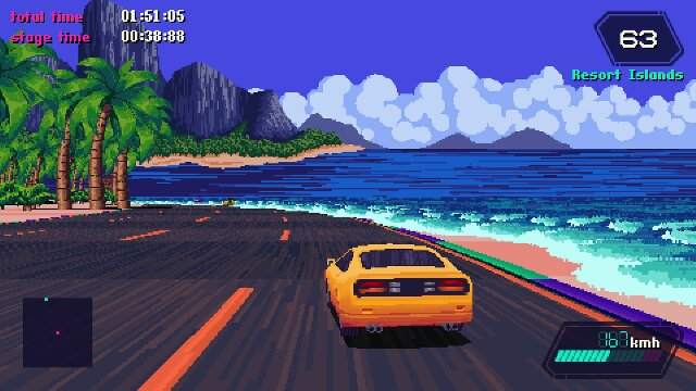 Anyone Know Some Racing Games With An Outrun Vaporwave Aesthetic