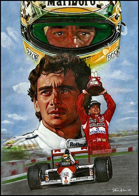 Any Ayrton Senna Wallpapers