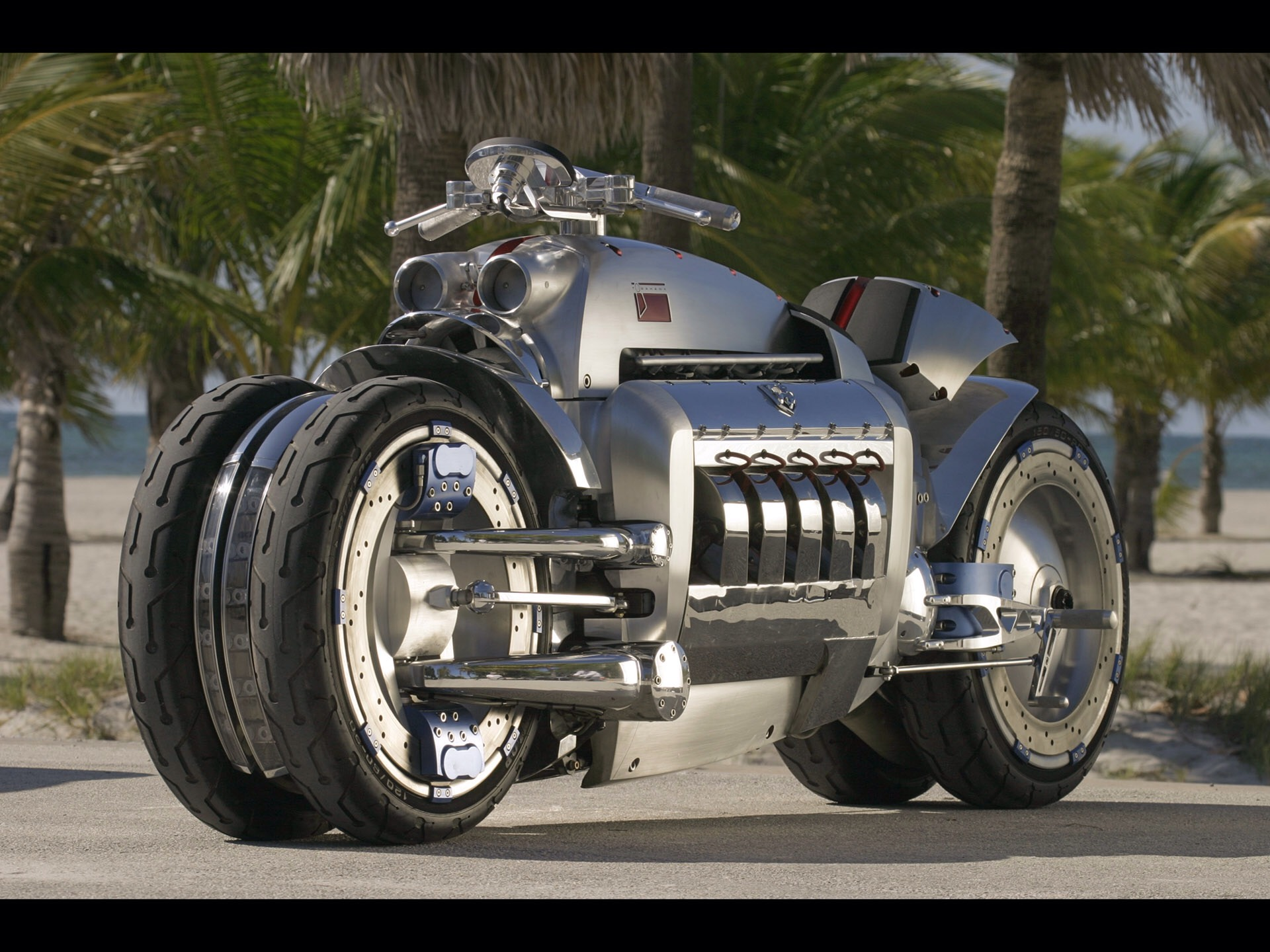 This 500bhp V8 Motorcycle Is A Two-Wheeled Muscle Car