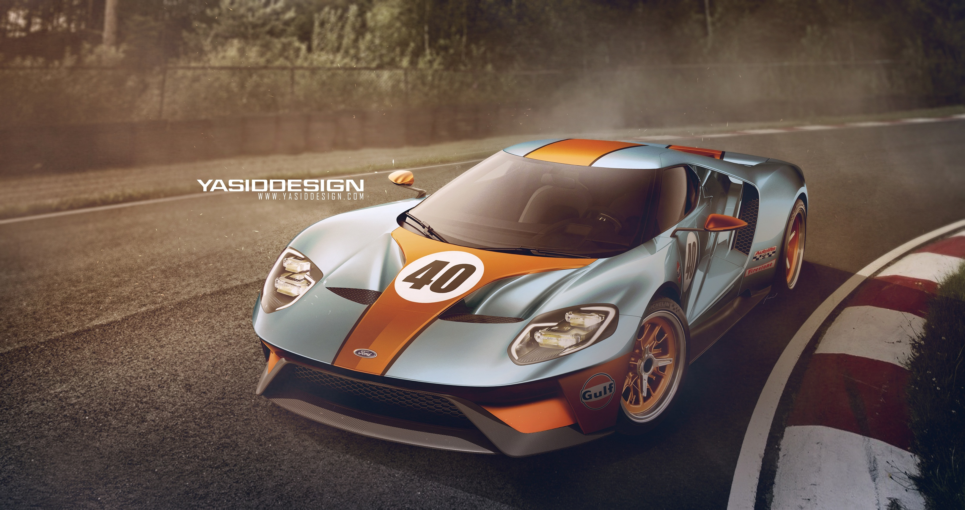 41 comments - 1966 Ford Gt40 Gulf