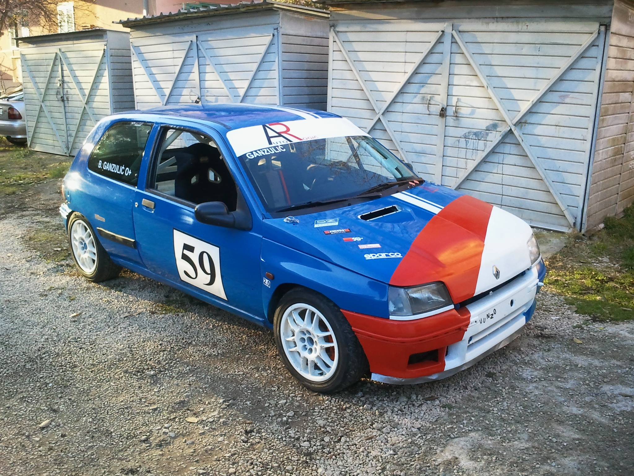 1994 renault clio williams hillclimb rally for Garage renault 94