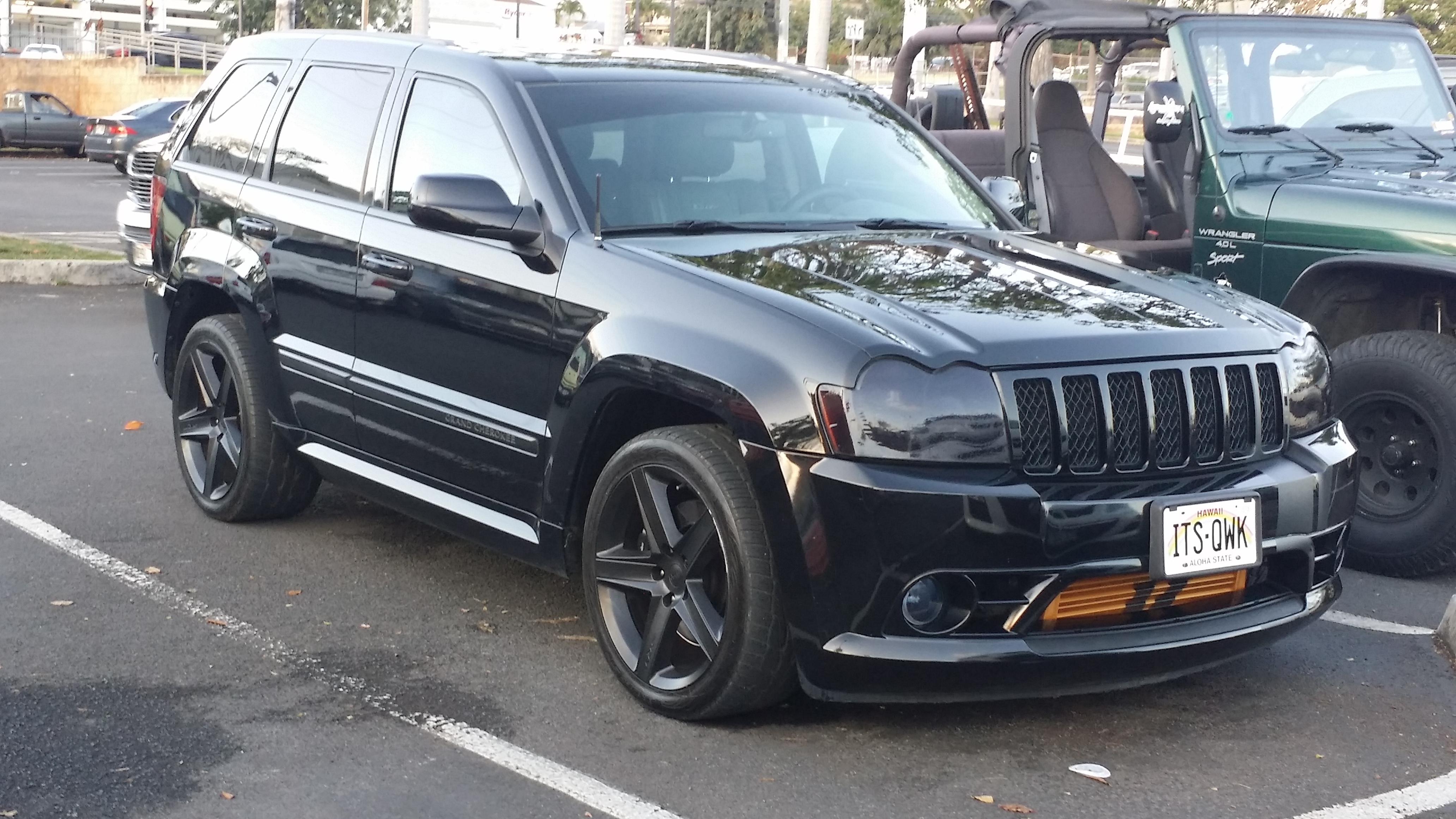 allen 39 s 2007 jeep grand cherokee srt8 garage car throttle. Cars Review. Best American Auto & Cars Review