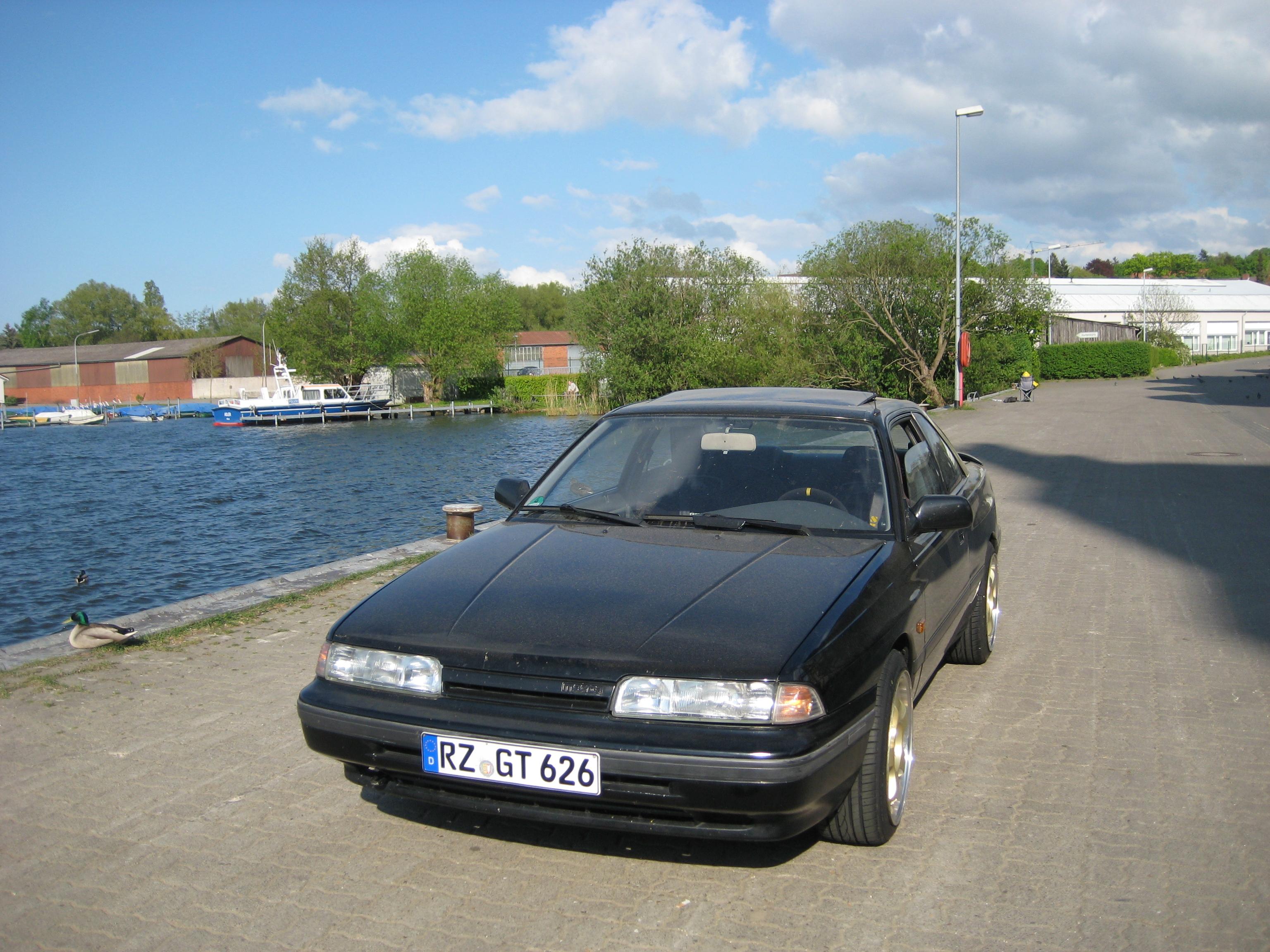 1990 mazda 626 gd coupe gt 2l 16v dohc fe3