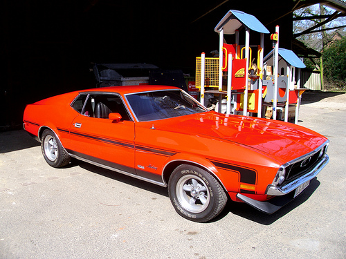 1971 ford mustang fastback for Garage ford 59