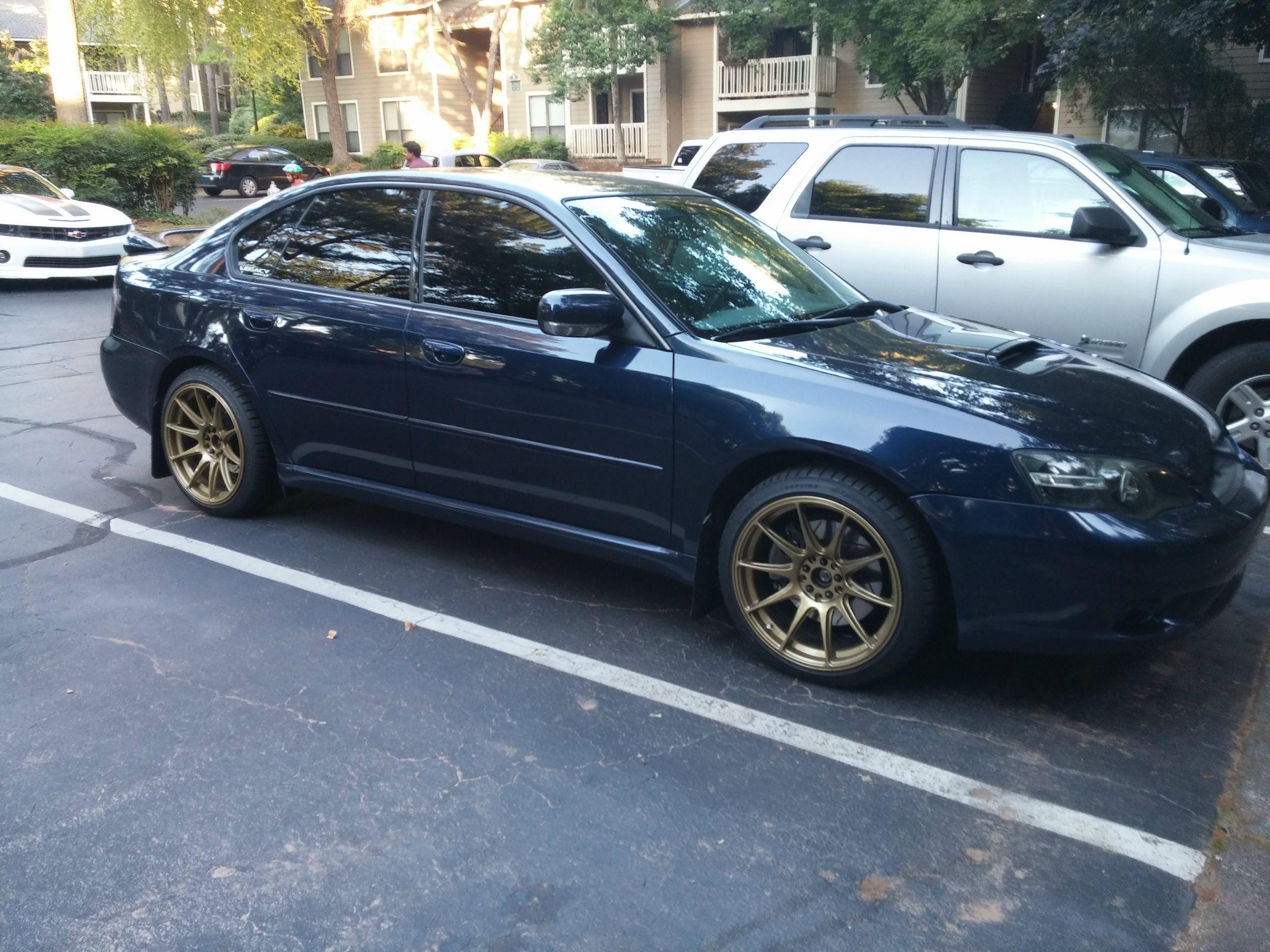 2005 Subaru Legacy Gt 5mt