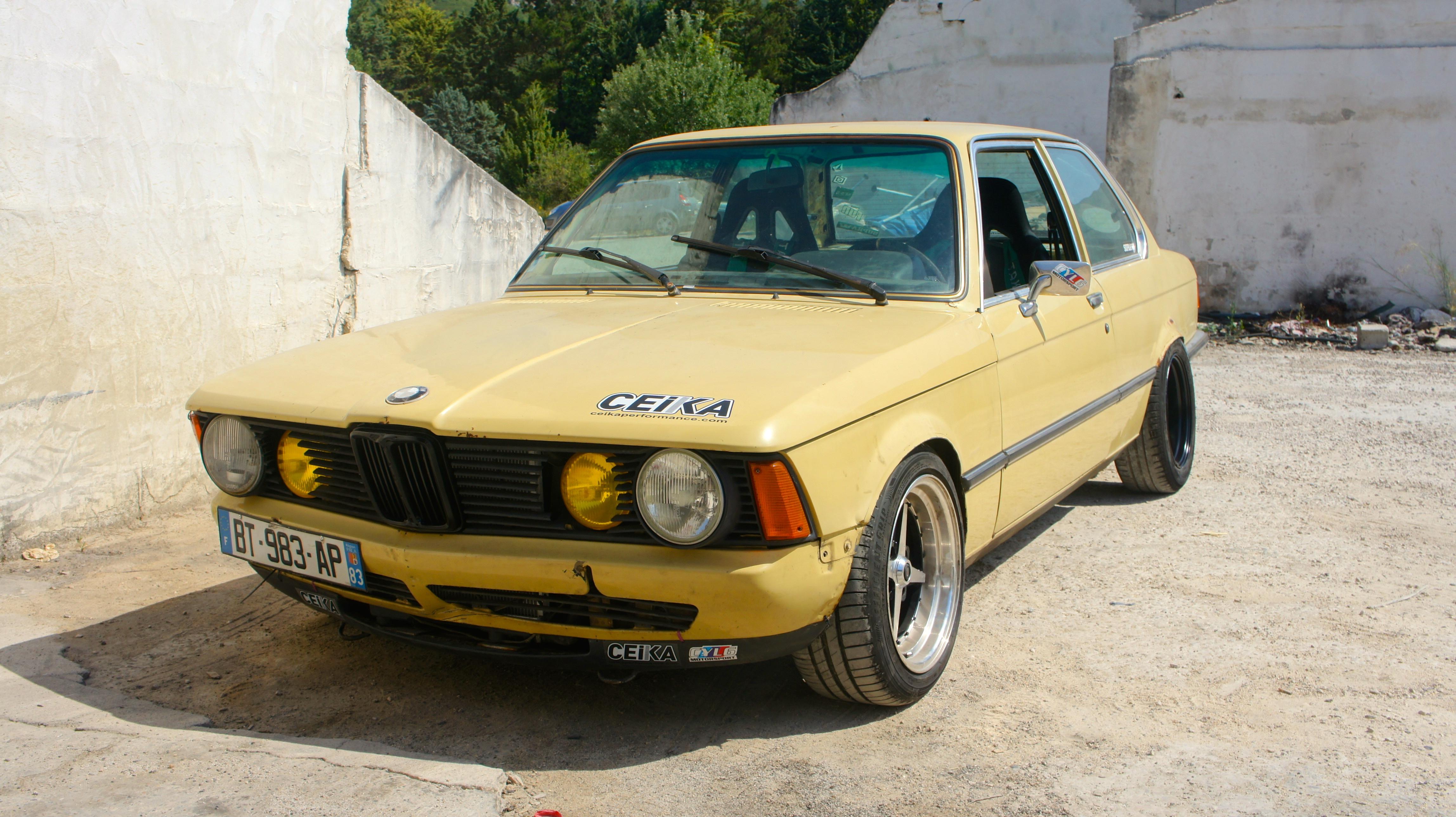 1977 Bmw E21 316 323i Swap
