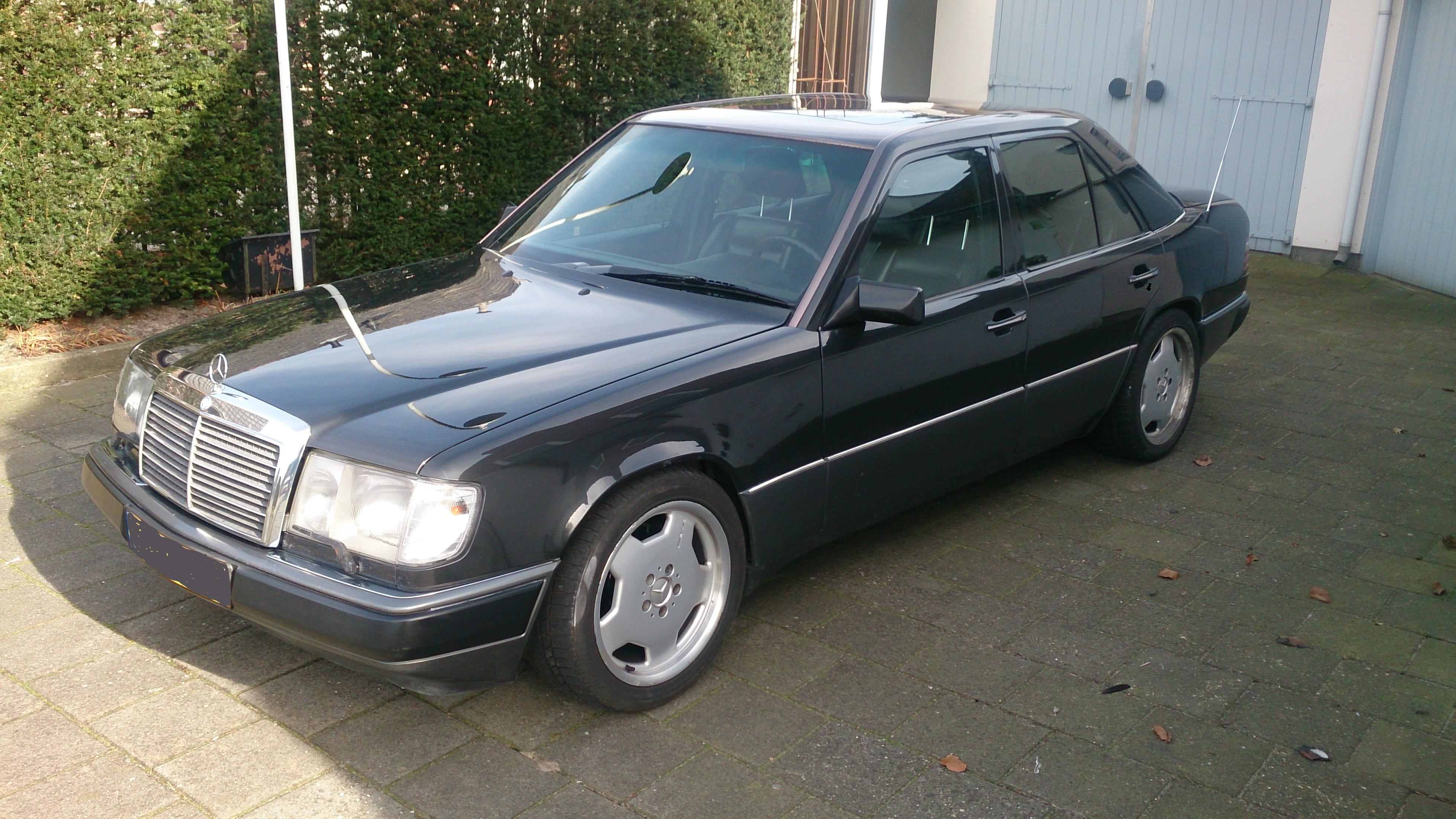 1986 mercedes benz 300e 24v amg for Mercedes benz 1986