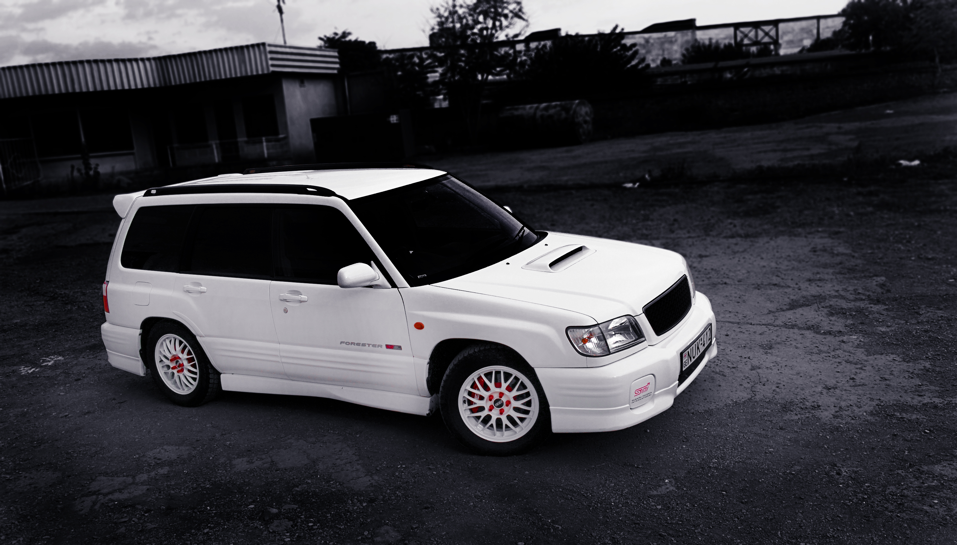 2000 Subaru Forester Stb Sti