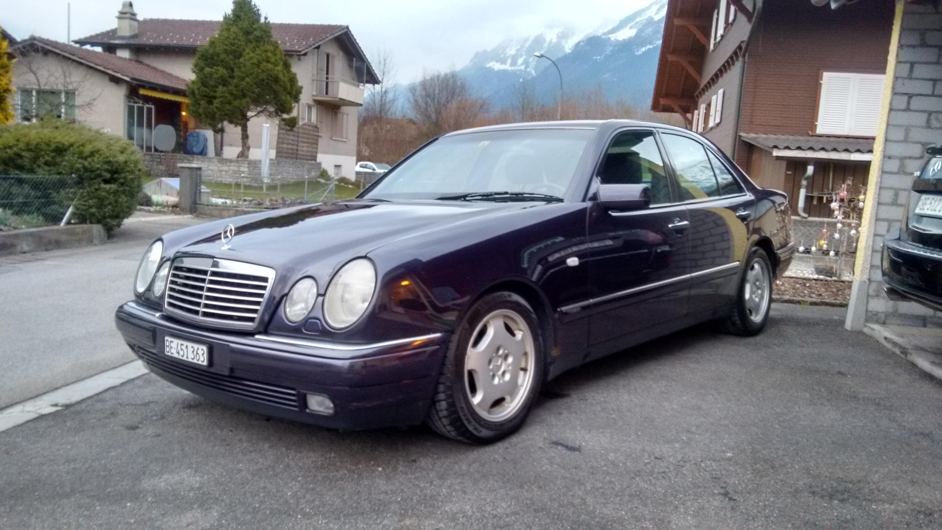 1997 Mercedes E320 >> 1997 Mercedes Benz E320 Avantgarde