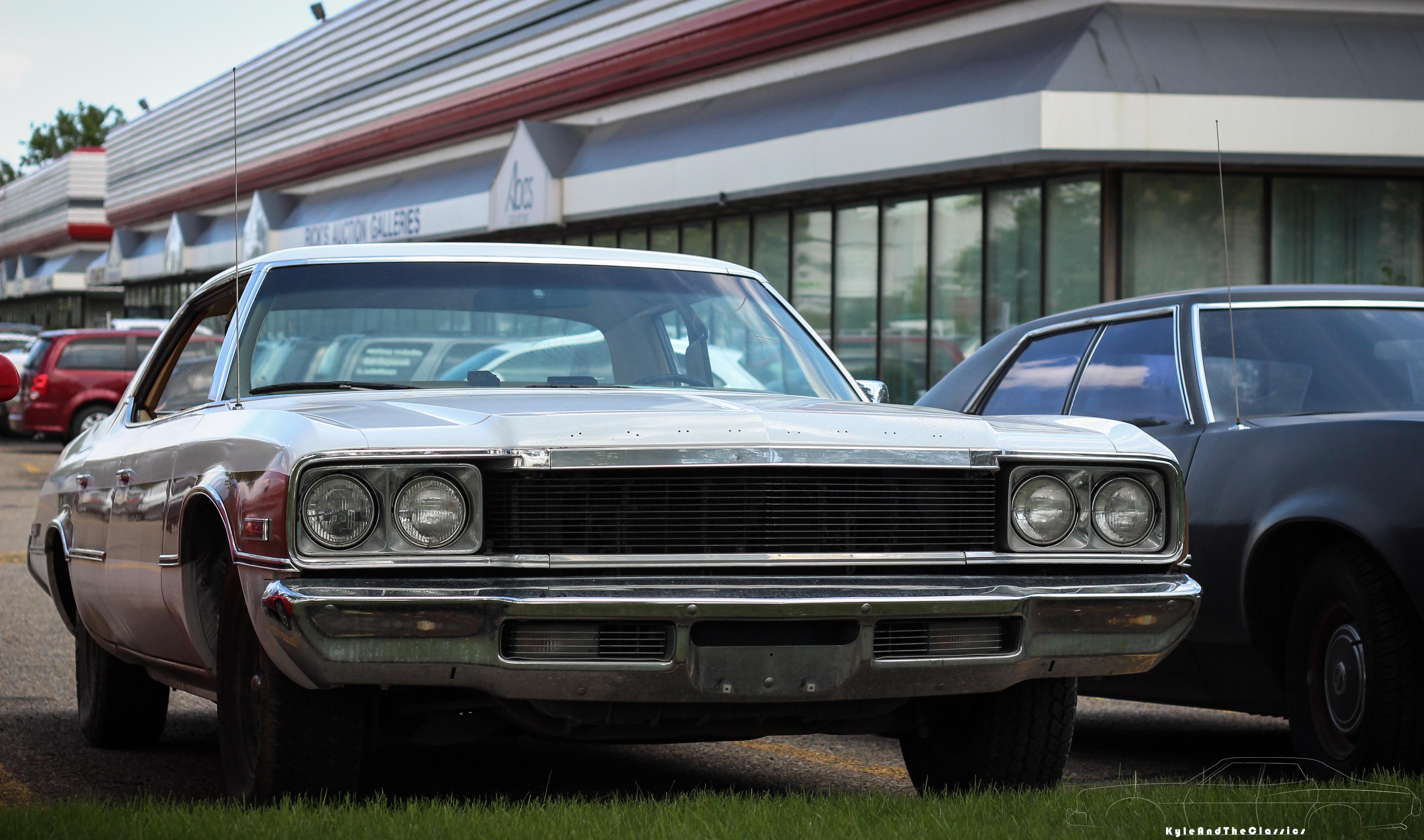 1974 plymouth gran fury iii four door hardtop for Plymouth garage doors