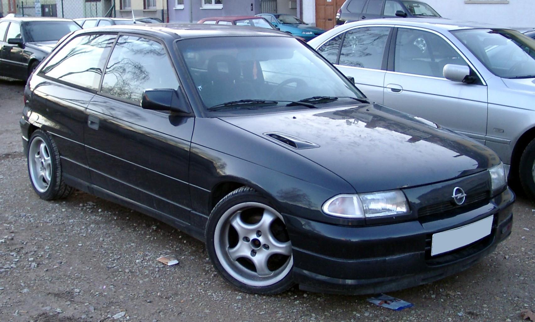 1995 Opel Astra Gsi 2.016V