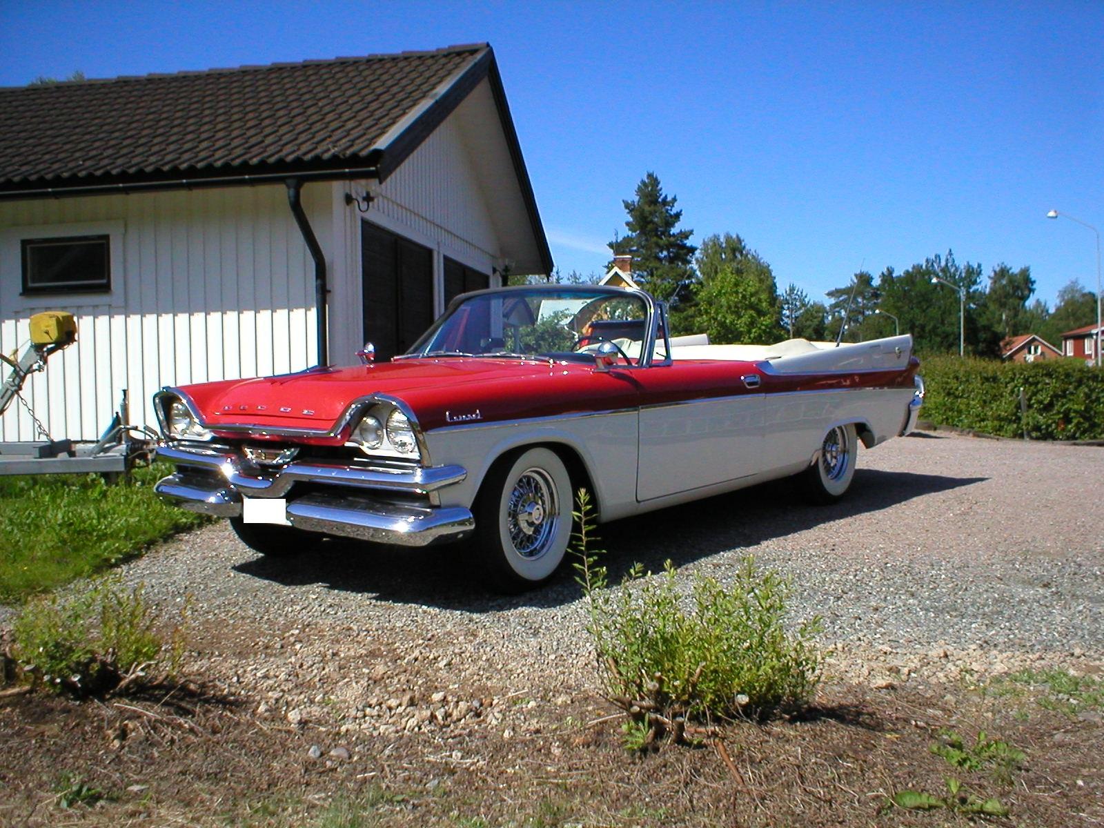 1957 Dodge Coronet D500 Hemi Convertible