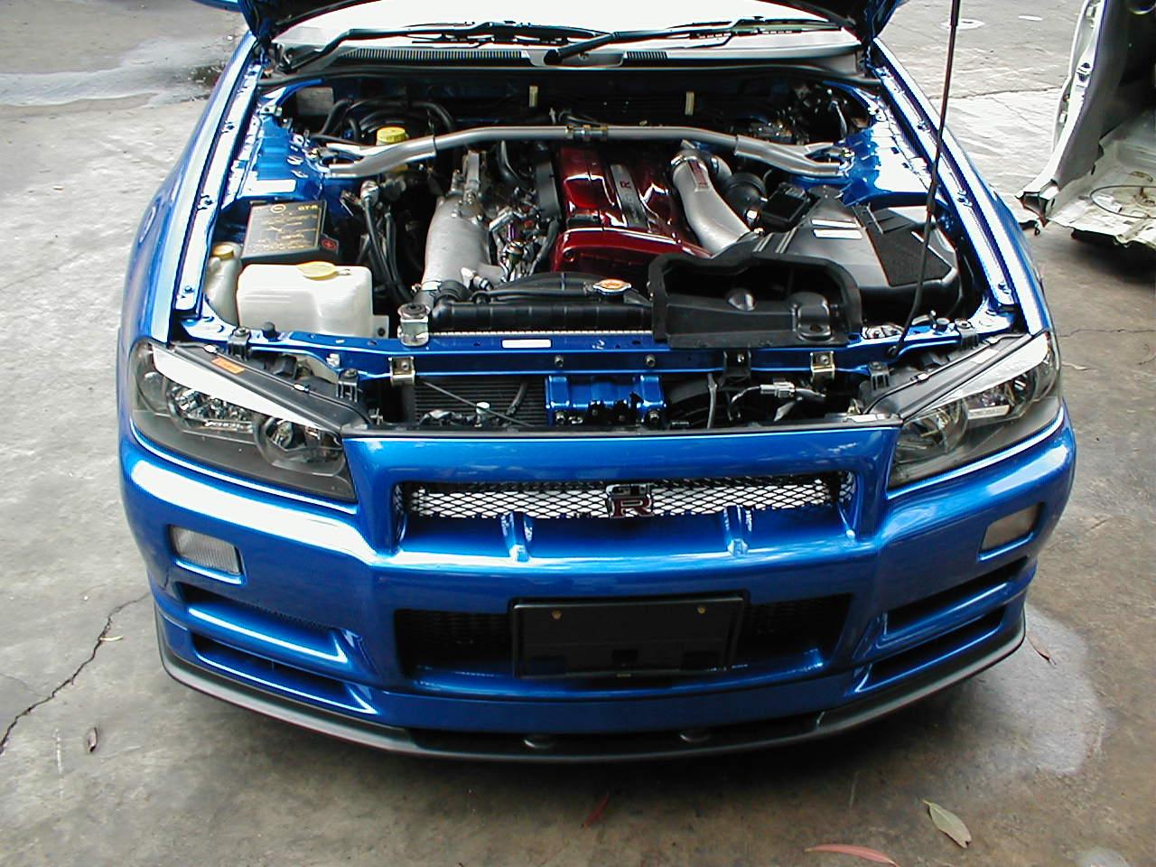 1999 Nissan Skyline R34 GTR