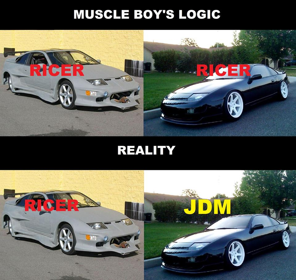 i'm tired of muscle fans saying ''all japanese cars are crap ,gay