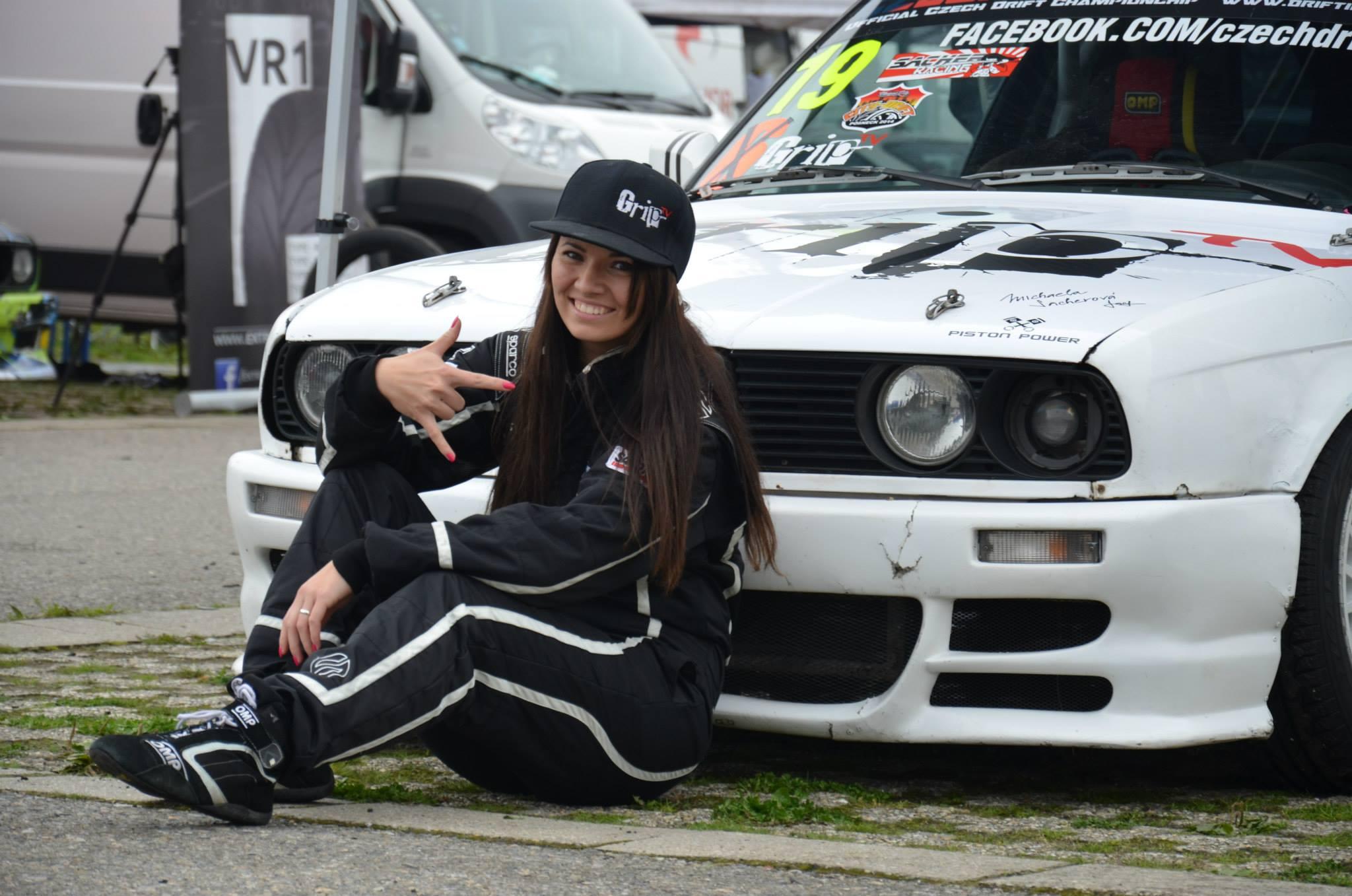 Drift Girl From Czech Republic